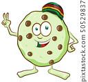 fun character  cookie with marijuana flavor 50529837
