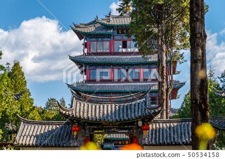 Old Town of Lijiang China 中國雲南麗江古城 世界文化遺產 古蹟 萬古樓 50534158