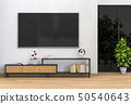 interior living room with Smart TV 50540643