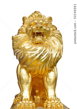 Isolated lion statues 50546981