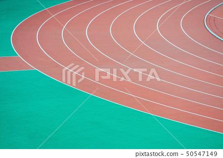 Athletics running track 50547149