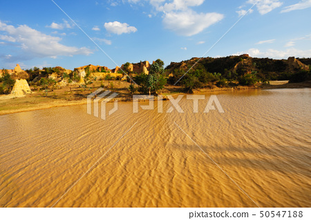 Muddy lake 50547188