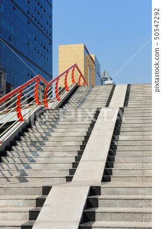 Stairs to footbridge 50547292
