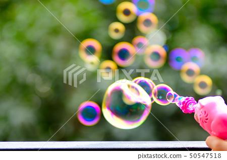 Soap bubbles 50547518
