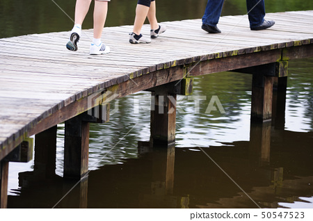 Wooden bridge 50547523