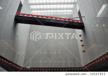 Chinese modern building interior 50547953