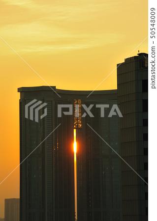 Urban sunset 50548009