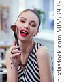 化妆刷 女人 女性 50553939