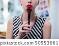 化妆刷 女人 女性 50553961