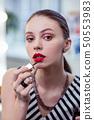 年轻女子 肖像 化妆品 50553983