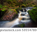 Waterfalls on a small brook 50554789