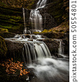 The waterfalls at Scaleber Foss 50554801