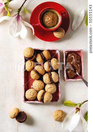 Baci di dama hazelnut biscuits 50555143