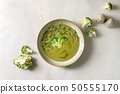 Green vegetable soup 50555170