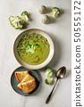 Green vegetable soup 50555172