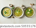 Green vegetable soup 50555176