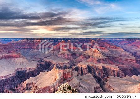 Grand Canyon, Arizona, USA at dawn from the south 50559847