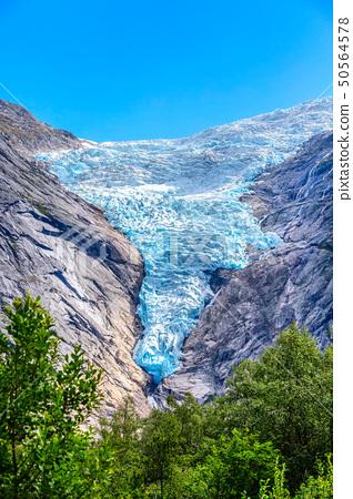 Briksdal glacier, Norway nature landmark 50564578