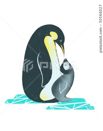 親子企鵝 50568027