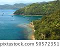 日本濑户内海国家公园德岛县火影忍者堀越海峡的景观 50572351