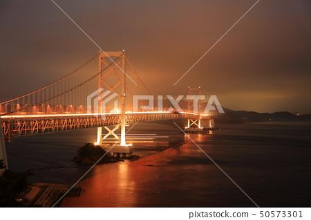 日本瀨戶內海國家公園德島縣火影忍者Dainaruto橋的景觀 50573301