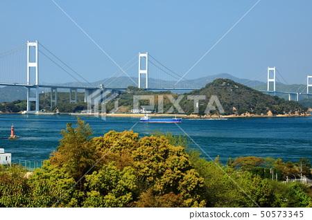 ภูมิประเทศของประเทศญี่ปุ่นอุทยานแห่งชาติเซโตะทะเลในเมืองเอฮิเมะอิมาบาริชิมานามิไกโด 50573345