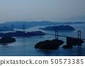 ภูมิประเทศของประเทศญี่ปุ่นอุทยานแห่งชาติเซโตะทะเลในเมืองเอฮิเมะอิมาบาริชิมานามิไกโด 50573385