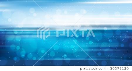 海和夏天風景背景 50575130