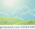 상쾌한 아침 - 구름 - 기분 좋은 바람 50583498