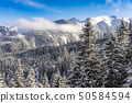 The great peaks of the High Tatra Mountains in the 50584594