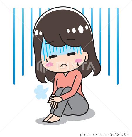 抑鬱症的女人 50586292