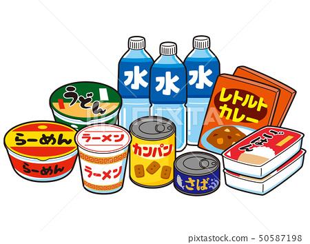 緊急食物 50587198