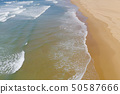Atlantic ocean sandy beach with turquoise ocean an 50587666