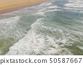 Atlantic ocean sandy beach with turquoise ocean an 50587667