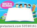 Back to school kids,education concept 50590161