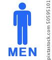 Gender mark male 50595101