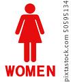 Gender mark female 50595134
