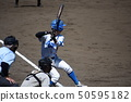 Baseball field batter 50595182
