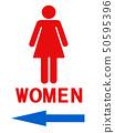 Information Female Mark Left 50595396