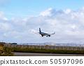 抵达稚内机场 50597096