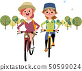 和女朋友一起騎車 50599024