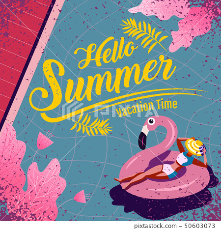 summer , layout template design, Holiday, 50603073