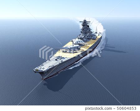 Super classic battleship Yamato 50604853