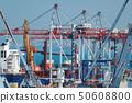 Industrial port in Odessa, Ukraine, May 4, 2019 50608800