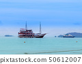 Tourist boat in the sea of Thailand 50612007