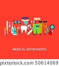 Medical Instruments Vector Concept 50614069