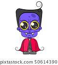 Halloween dracula vampire costume cartoon 50614390