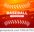 Baseball flyer poster template tournament invitation. Baseball background advertising design banner 50616763