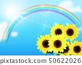 向日葵背景圖像 50622026