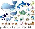 바다 생물 일러스트 집 _02 50624417